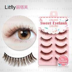 Litfly - Eyelash #102 (5 pairs)