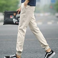 Besto - Cuffed Regular Fit Pants