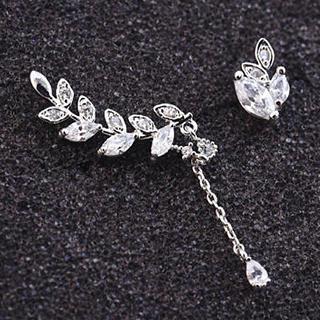 Love Generation - Non-Matching Rhinestone Earrings