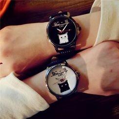 Mansfield - 真皮手錶
