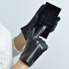 Glova - Touchscreen Faux Leather Gloves