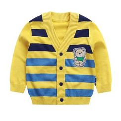 Ansel's - Kids Striped Cardigan