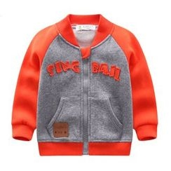 Endymion - Baby Color Block Zip Jacket