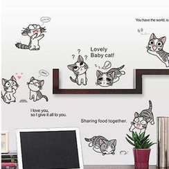 LESIGN - Cats Wall Sticker