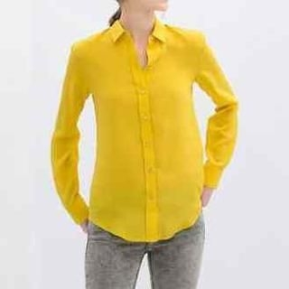 Flower Idea - Long-Sleeve Chiffon Shirt
