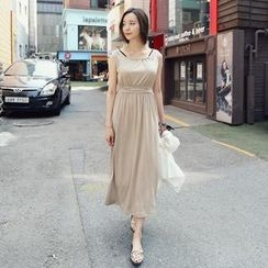REDOPIN - Sleeveless Drape Dress