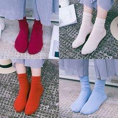 Cloud Femme - 纯色袜子