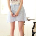 Angel Love - Gingham Chiffon Skirt