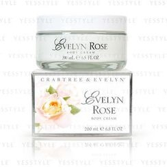 Crabtree & Evelyn - Evelyn Rose Body Cream
