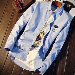 DTT - Print Long-Sleeve Shirt