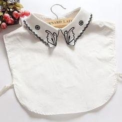 Eustacia - Butterfly Embroidered Decorative Collar