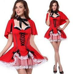 Cosgirl - 小紅帽舞會服裝