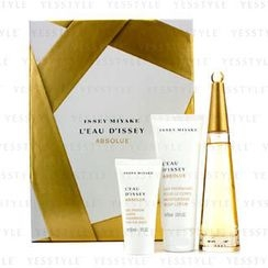 Issey Miyake - LEau DIssey Absolue Coffret: Eau De Parfum Spray 50ml/1.6oz + Body Lotion 75ml/2.5oz + Shower Gel 30ml/1oz
