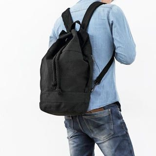 MURATI - Drawstring Canvas Backpack