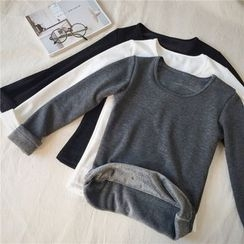 Fancy Show - Long-Sleeve Fleece-Lined Top