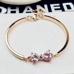 Utsukushi - Rhinestone Bangle