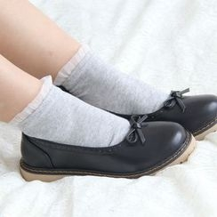 Sock Kingdom - Frilled Trim Socks