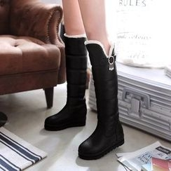 Shoes Galore - Padded Tall Boots