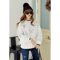 REDOPIN - Cotton Brushed-Fleece Sweatshirt