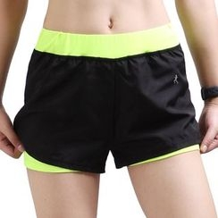 YUBE - Color Block Sport Shorts