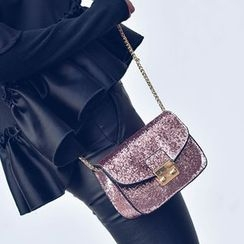 Albatross - Glitter Chain Strap Shoulder Bag