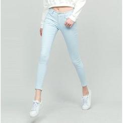 chuu - 超窄身-5kg牛仔褲