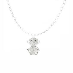 Glamagem - 12 Zodiac Collection - Happy Monkey With Bracelet