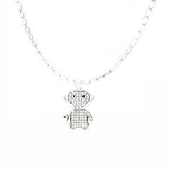 Glamagem - 12生肖动物吊饰 - 欢喜猴 - 连手链