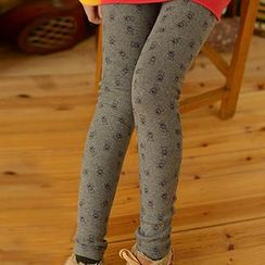 Moriville - Print Fleece-Lined Leggings