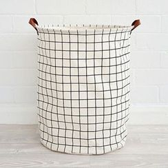 C-DO KIDS - Cotton Linen Laundry Basket