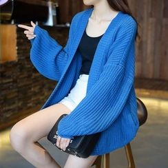 FR - Balloon Sleeve Cardigan