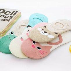 Magic Beauty - Printed Low Socks