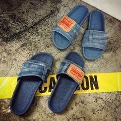 周董女鞋 - 牛仔拖鞋