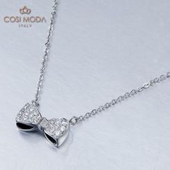 COSI MODA - Steel Necklace with Cubic Zirconia