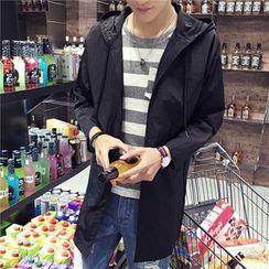 Bay Go Mall - Hooded Light Jacket