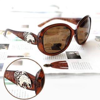 MURATI - Leopard-Detail Sunglasses
