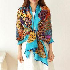 RGLT Scarves - Patterned Silk Scarf
