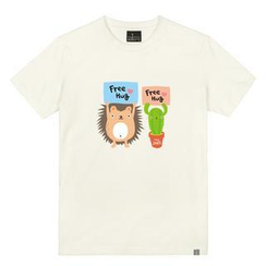 the shirts - 'Free Hug' Print T-Shirt