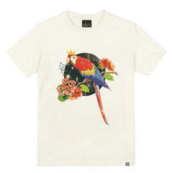 the shirts - Parrot Print T-Shirt