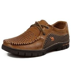 Van Camel - Perforated Casual Shoes