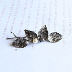 Hush Hush - Leaf Hair Pin