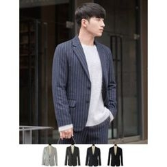 STYLEMAN - Single-Breasted Stripe Jacket
