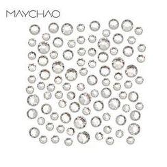 Maychao - 3D Nail Art Rhinestones (1.6mm) (SS4) (50 pcs)