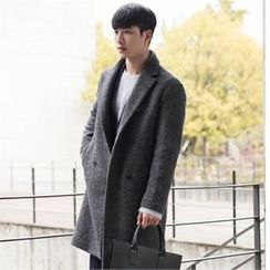 STYLEMAN - Wool-Blend Double-Breasted Coat