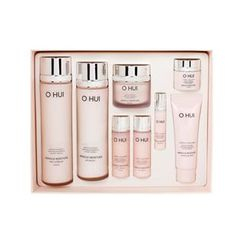 O HUI - Miracle Moisture Special Set: Skin Softener Moist 150ml + 20ml + Emulsion 130ml + 20ml + Cream 30ml + 7ml + Essence 3ml + Cleansing Foam 40ml