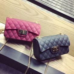 Nautilus Bags - 绗缝链条带斜挎包