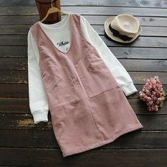 YOYO - 钩织无袖连衣裙