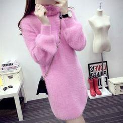 Emeline - Turtleneck Long Sweater