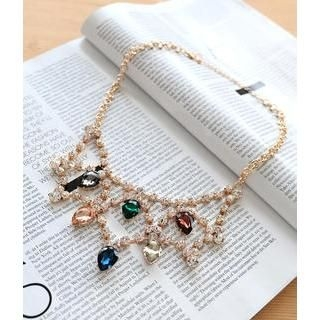 Petit et Belle - Jewel Web Necklace