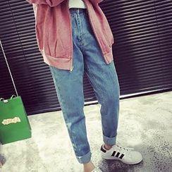 YUKISHU - High Waist Harem Jeans